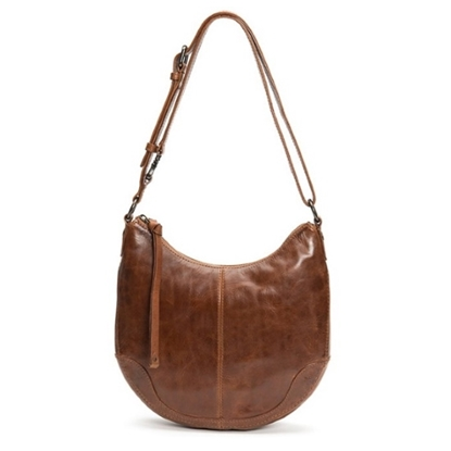 Picture of Frye Melissa Small Scooped Hobo - Cognac