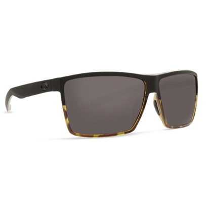 Picture of Costa Rincon - Black/Shiny Tortoise with Gray Polarized Lens