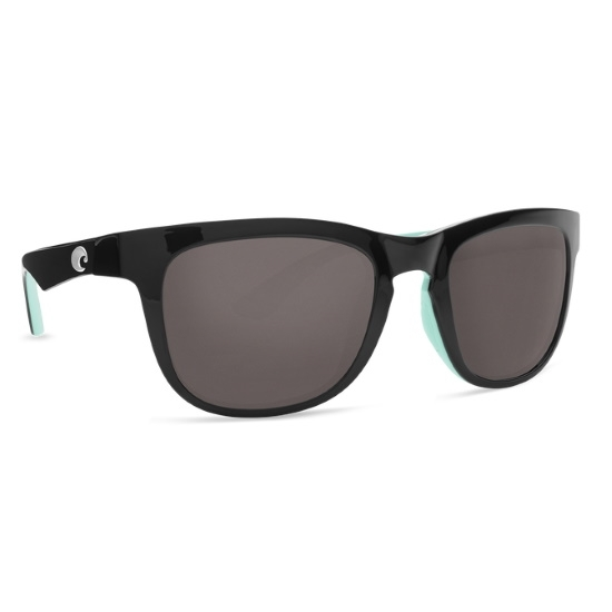Picture of Costa Copra - Shiny Black/Mint with Gray Polarized Lens