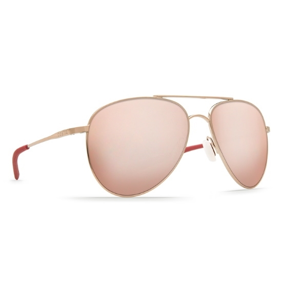 Picture of Costa Cook - Rose Gold w/ Copper Silver Mirror Polarized Lens