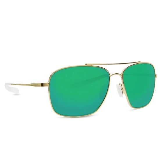 Picture of Costa Canaveral - Shiny Gold with Green Mirror Polarized Lens