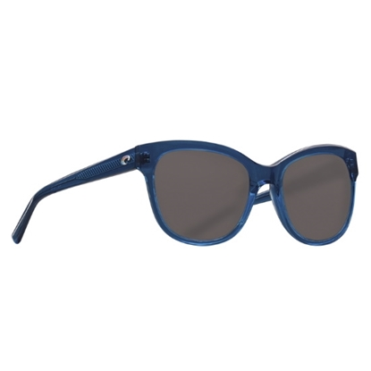 Picture of Costa Bimini - Shiny Deep Teal Crystal w/ Gray Polarized Lens