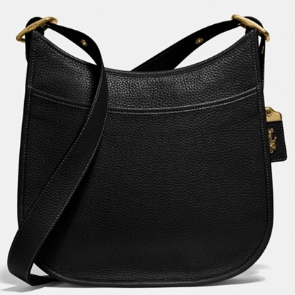 Picture of Coach Leather Emery Crossbody - Brass/Black