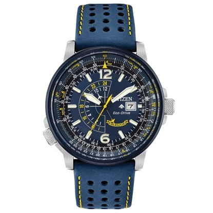 Picture of Citizen Eco-Drive Promaster Nighthawk Watch with Blue Strap