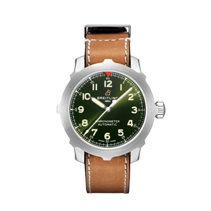 Picture of Breitling Aviator Super 8 B20 Auto 46 with Green Dial