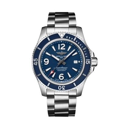 Picture of Breitling Superocean Auto 44 - Steel with Blue Dial