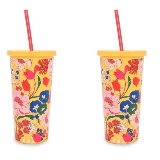 Picture of Ban.do Sip Sip Tumblers - Superbloom