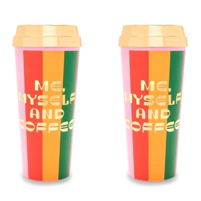 Picture of Ban.do Hot Stuff Thermal Mugs - Me, Myself and Coffee