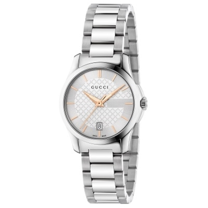 Picture of Gucci G-Timeless New Qtz Sm Steel, Silver Dial