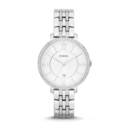 Picture of Fossil Ladies' Jacqueline Three-Hand Stainless Steel Watch