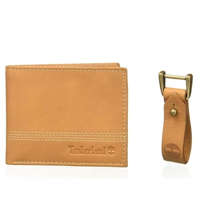 Picture of Timberland Leather Wallet and Fob Set