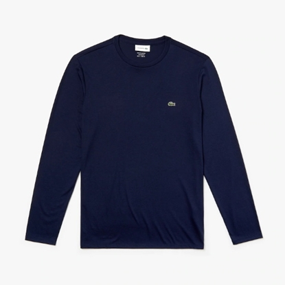 Picture of Lacoste Men's Long Sleeve Crewneck Tee