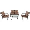 Picture of Hanover Palm Bay 4-Piece Patio Set