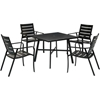 Picture of Hanover Cortino 5-Piece Commercial-Grade Patio Dining Set