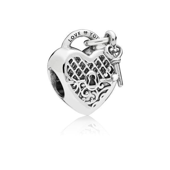 Picture of Pandora® Love You Lock Charm