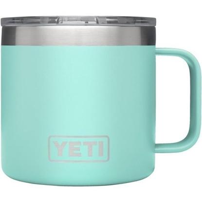 Picture of YETI® Coolers Rambler™ 14-Ounce Mug - Seafoam