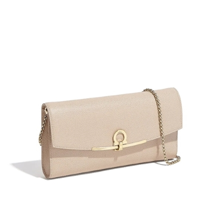 Picture of Salvatore Ferragamo Gancini Icona Mini Bag