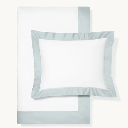 Picture of Boll & Branch Colorblock King/CA King Duvet Set