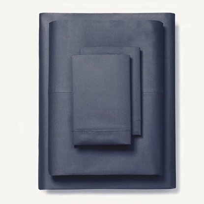 Picture of Boll & Branch Classic Hemmed California King Sheet Set