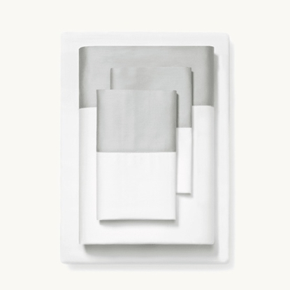 Picture of Boll & Branch Colorblock Queen Sheet Set