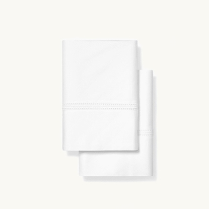 Picture of Boll & Branch Eyelet Standard Pillowcase Set