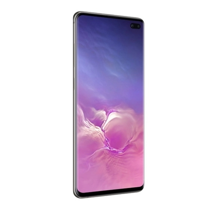 Picture of Samsung Galaxy S10+ Unlocked 128GB Phone with Hard Shell Case