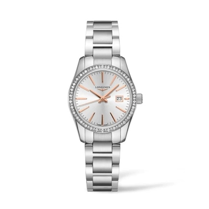 Picture of Longines Ladies' Conquest Classic Watch with Silver Dial