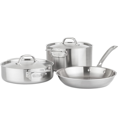 Picture of Viking Professional 5-Ply Stainless Steel Cookware Set