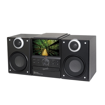 Picture of Supersonic Audio System with Bluetooth, DVD Player & TV Tuner