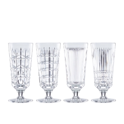 Picture of Reed & Barton New Vintage Iced Beverage Glasses - Set of 4