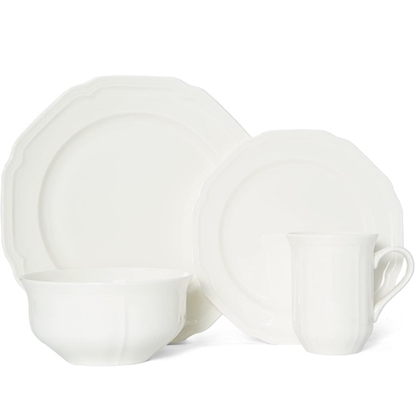 Picture of Mikasa Antique White 16-Piece Dinnerware Set