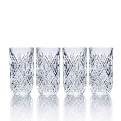 Picture of Mikasa Claremont 12oz. Highball Glasses - Set of 4