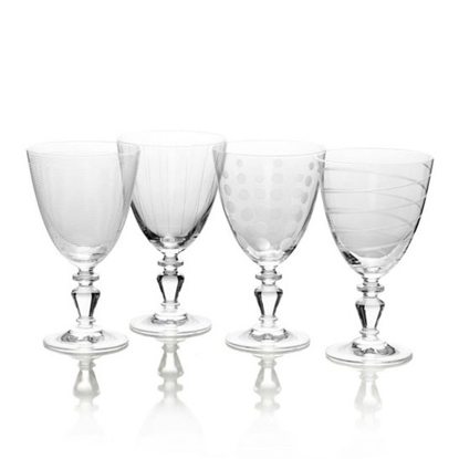 Picture of Mikasa Cheers Vintage 11.75oz. Goblets - Set of 4