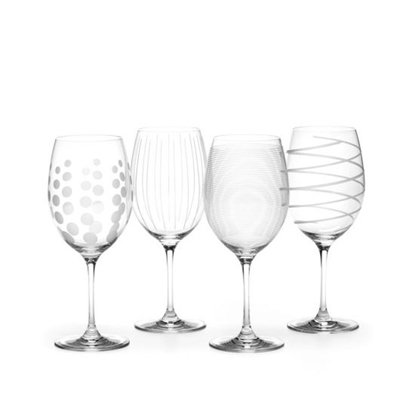 Picture of Mikasa Cheers 24oz. Red Wine Glasses - Set of 4