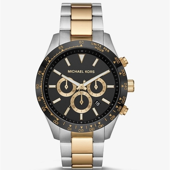 Picture of Michael Kors Men's Layton Two-Tone Stainless Steel Watch