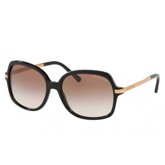 Picture of Michael Kors Adrianna II Sunglasses- Black w/ Brown/Peach Lens