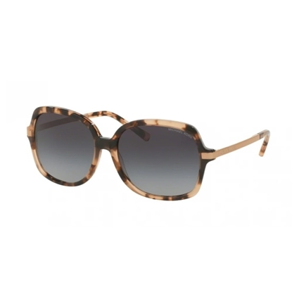 Picture of Michael Kors Adrianna II Sunglasses - Pink Tortoise/Grey