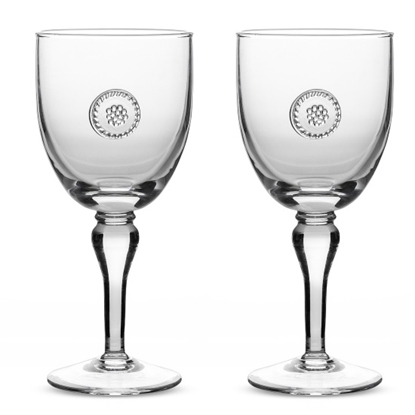Picture of Juliska Berry & Thread Stemmed Wine Glasses - Set of 4