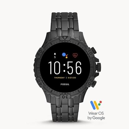 Picture of Fossil Garrett HR Black Stainless Steel Smartwatch