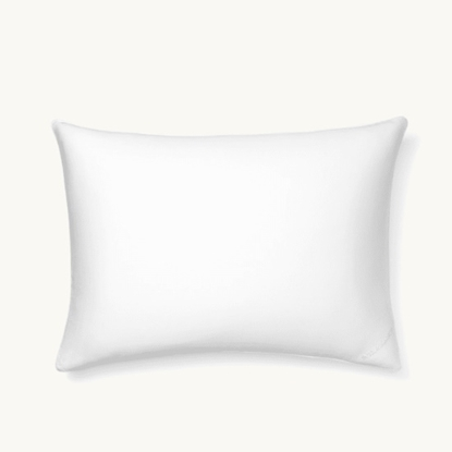 Picture of Boll & Branch Standard Pillow Protector - White