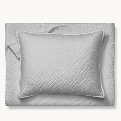 Picture of Boll & Branch Full/Queen Heritage Quilt Set - Pewter