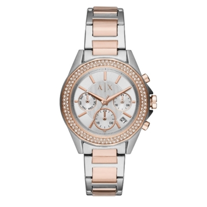 Picture of Armani Exchange Lady Drexler Two-Tone Stainless Steel Watch