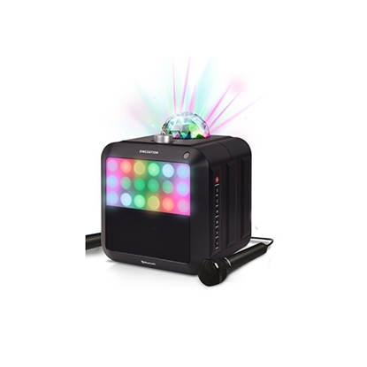 Picture of 808 Singstation Star Burst All-In-One Karaoke System with Mics