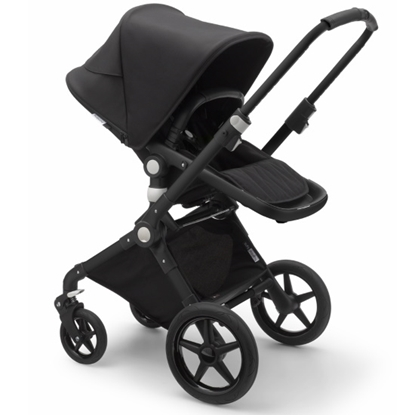 Picture of Bugaboo Lynx Stroller with Organizer & Cup Holder- Black/Black