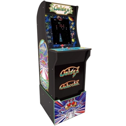Picture of Arcade1Up Galaga Arcade Cabinet with Riser