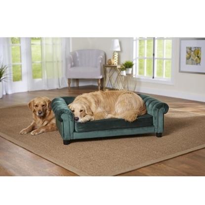 Picture of Enchanted Home Pet Sullivan Pet Sofa - Emerald