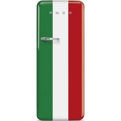 Picture of SMEG 9.22 cu.ft. Retro Fridge - Italian Flag