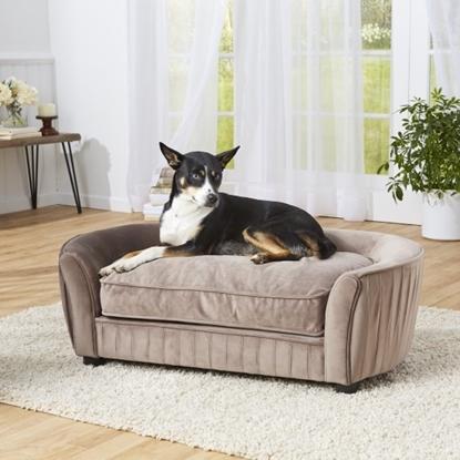 Picture of Enchanted Home Pet Tucker Sofa - Mushroom