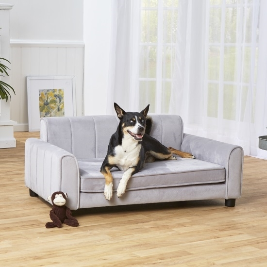 Picture of Enchanted Home Pet Ludlow Sofa - Grey