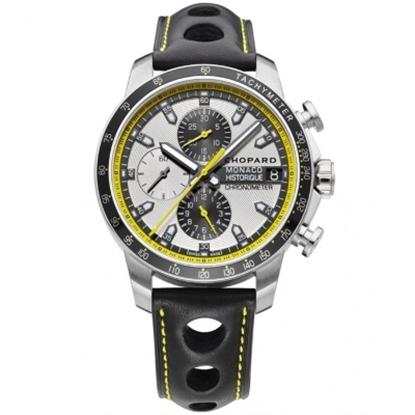Picture of Chopard Grand Prix de Monaco Auto Chronograph with Black Strap